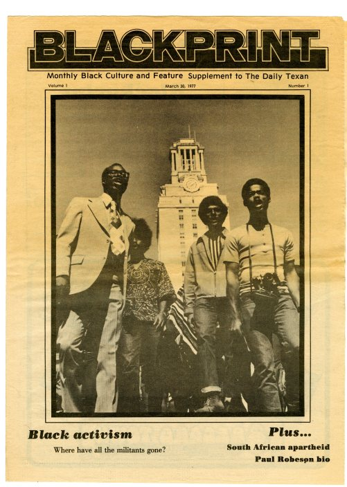 Black Print Newspaper (1977)