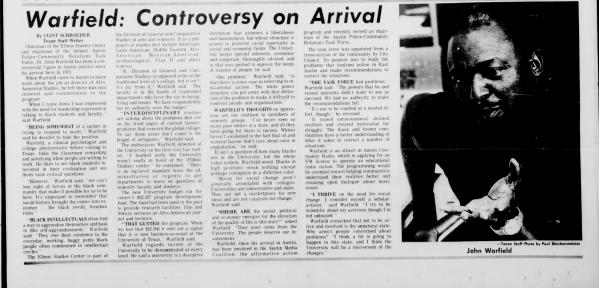 Austin Daily Texan newspaper (1975)